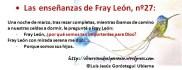 Las enseñanzas de Fray León nº27
