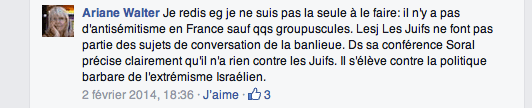 """Soral n'a rien contre les Juifs"""