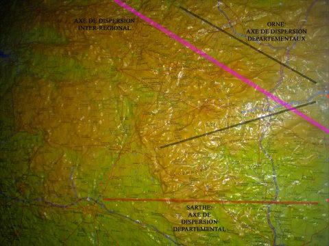 dispersion du loup Orne 2018/2021