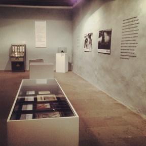 Sala principal de la exposición.