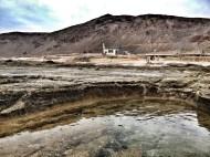 Charco y montaña de Las Coloradas / LUIS ROCA ARENCIBIA