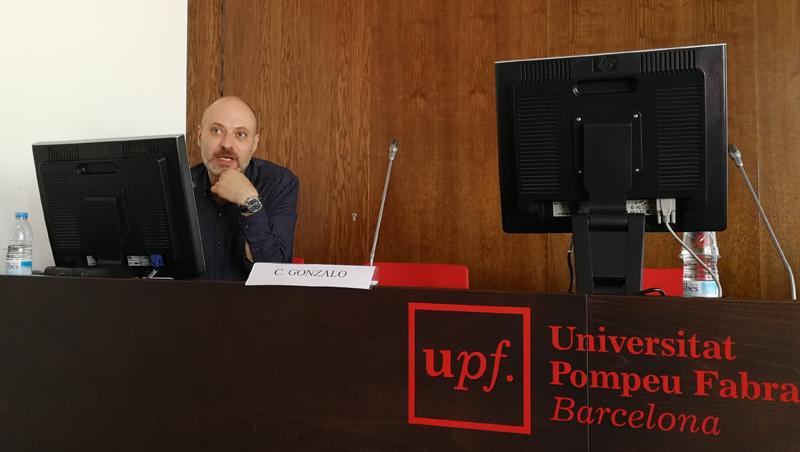 Dr. Carlos Gonzalo, consultor SEO y profesor de posicionamiento, marketing digital y comunicación online en la UPF.