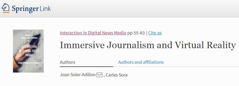immersive journalism