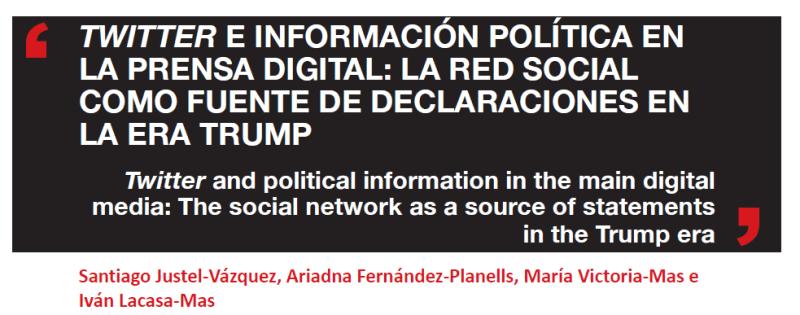 Twitter y comunicación política - Artículo académico