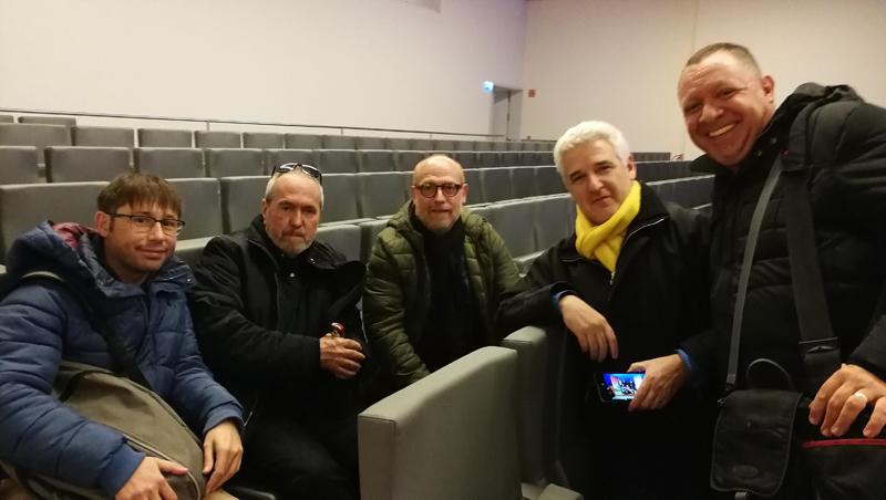 Carlos Lopezosa, Lluís Codina, Mario Pérez-Montoro, Pere Freixa y Denis Renó.