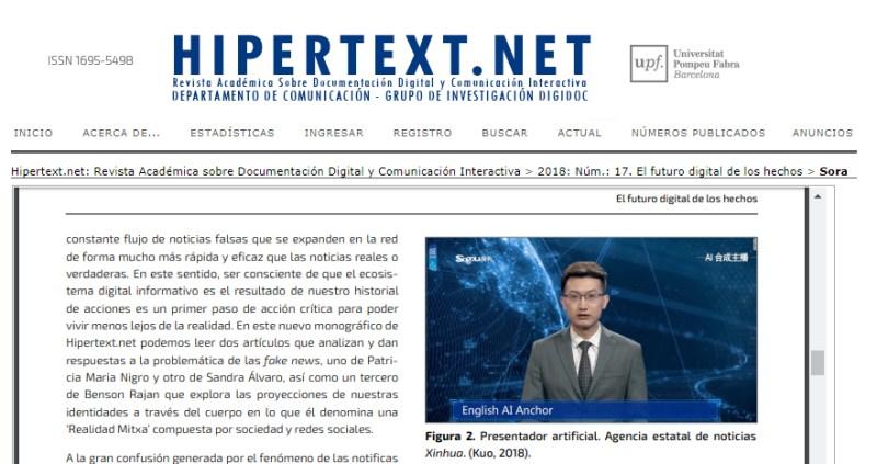 Hipertext.net, noviembre 2018