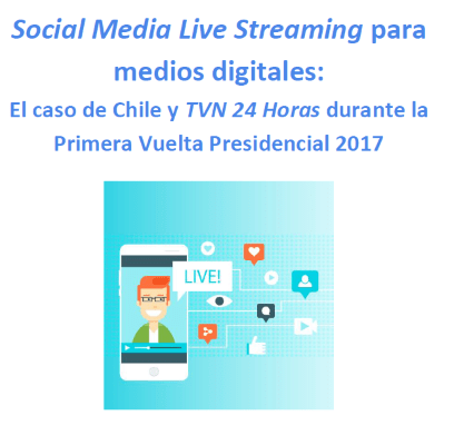 Social Media Live Streaming - Cubierta del informe