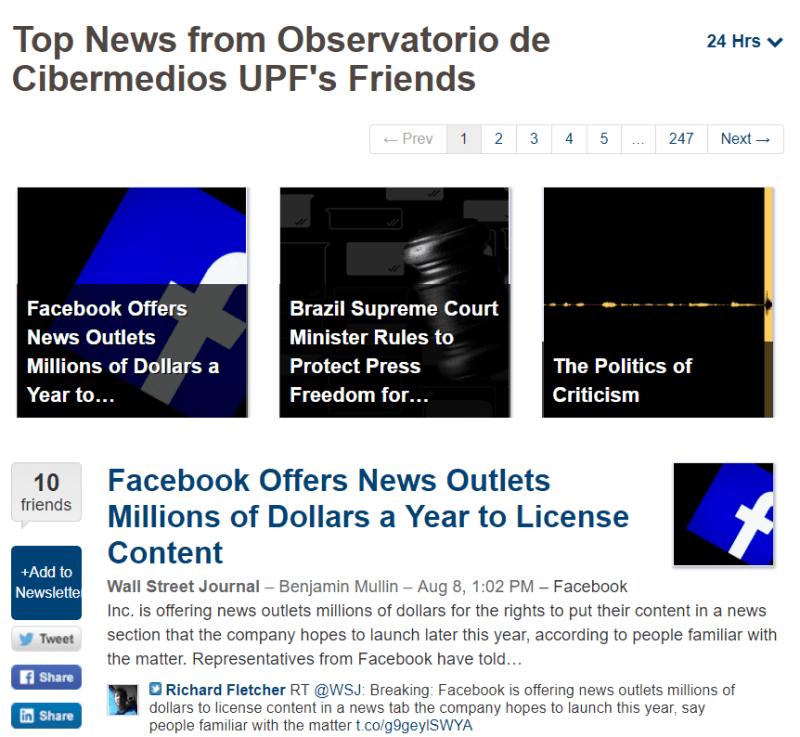Página web del Boletín OCM