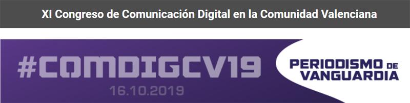 XI Congreso de Comunicación Digital en la Comunidad Valenciana
