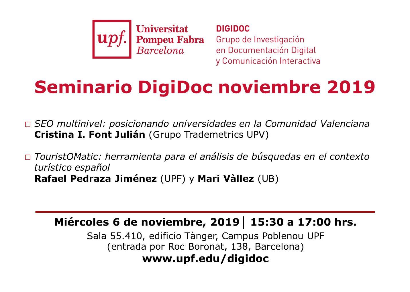 Semianrio Digidoc noviembre 2019