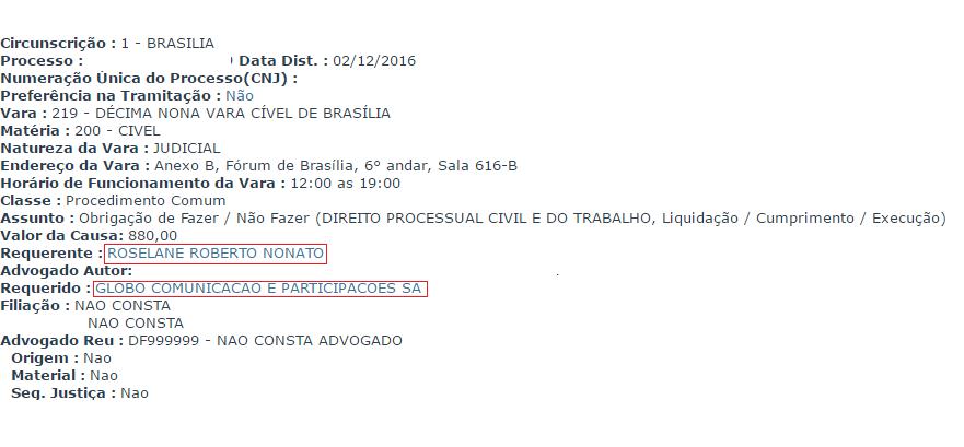 processo1 Globo é processada por plágio