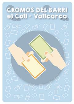 Els cromos del barri de El Coll - Vallcarca