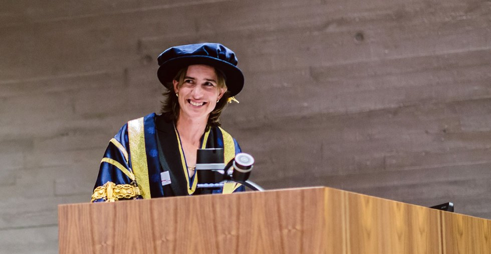 Katherine's inauguration as Chancellor in 2015