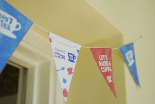 NHS70 celebrations (Bunting for NHS 70 celebrations)