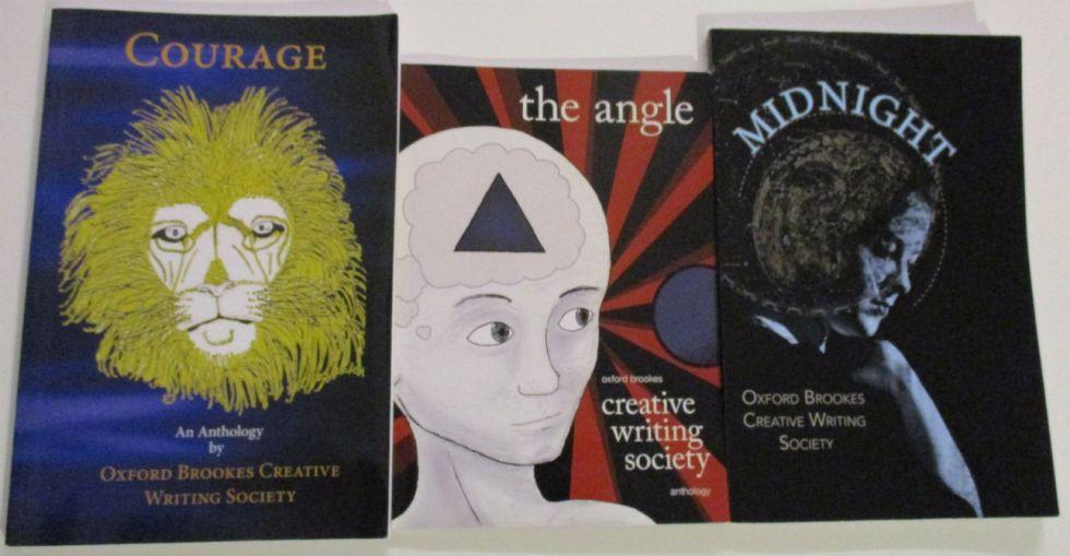 Oxford Brookes Creative Writing Society Anthologies w1291