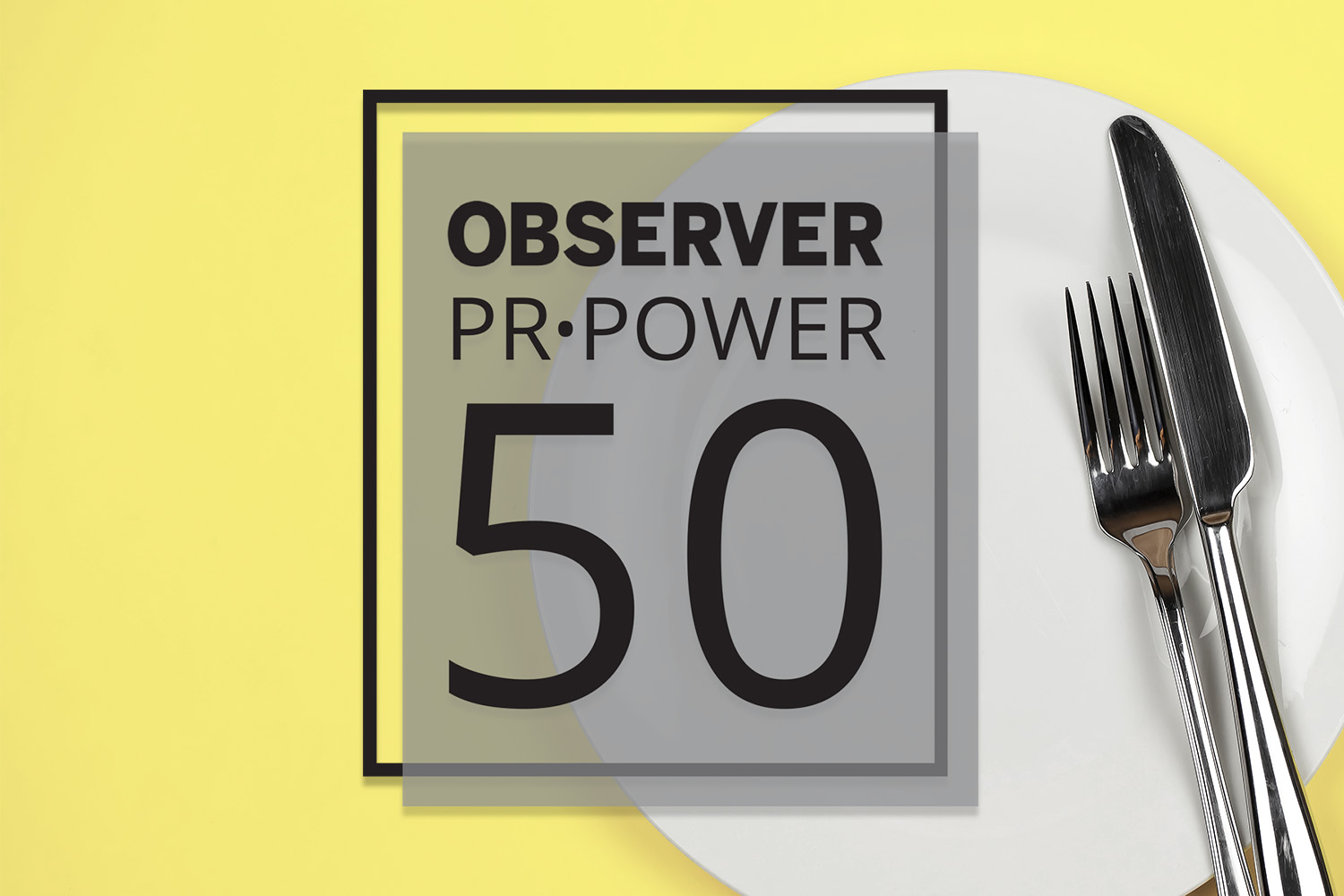 PR Power List Food and Spirits Honor Roll of 2019