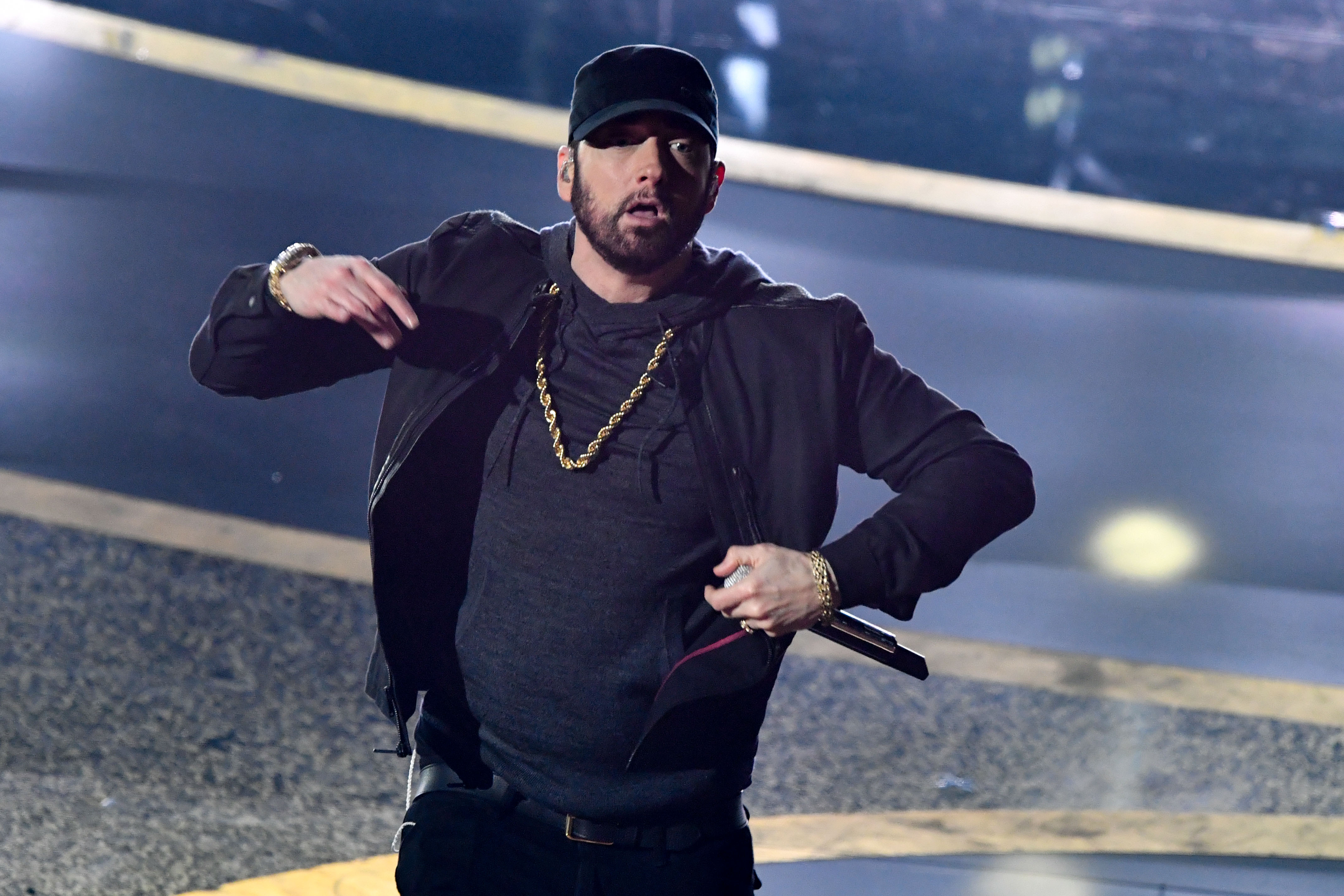 """Why Eminem Just Played """"Lose Yourself"""" 18 Years Later at the Oscars"""