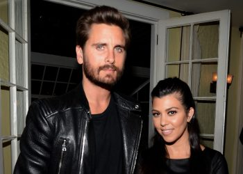 Kourtney Kardashian and Scott Disick Jetted to a Desert Retreat for a Family Getaway