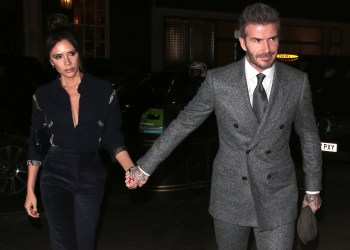 David and Victoria Beckham Want an Underground Escape Tunnel at Their Cotswolds Home