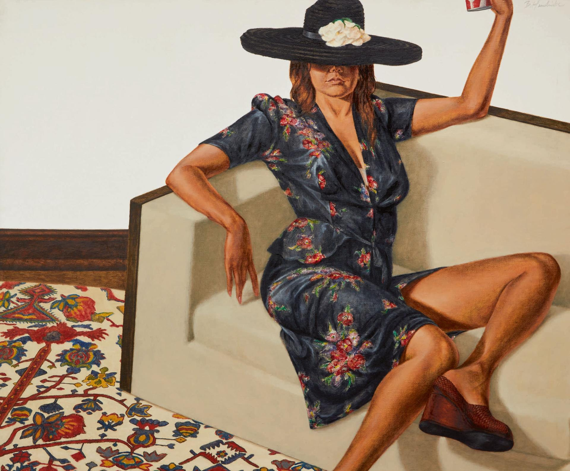 Barkley L. Hendricks' Portrait of Jackie Cameron Expected to Fetch $3 Million