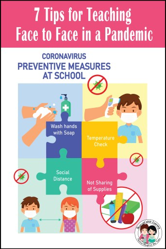 While teaching during a pandemic, you must follow proper preventive measures at school.