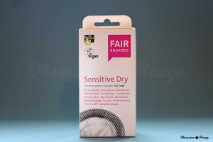fair squared sensitive dry vegan preservatifs