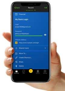 keeper mobile screenshot