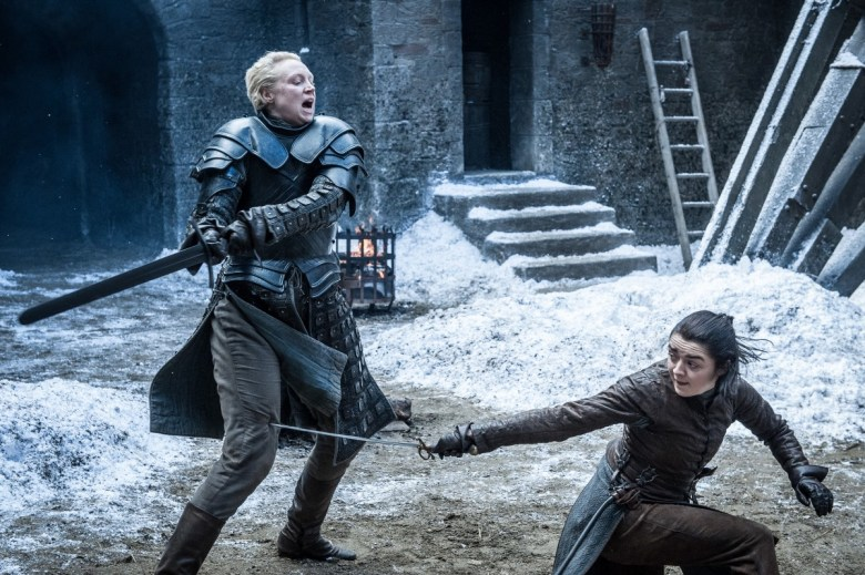 The Spoils of War - Brienne of Tarth and Arya Stark