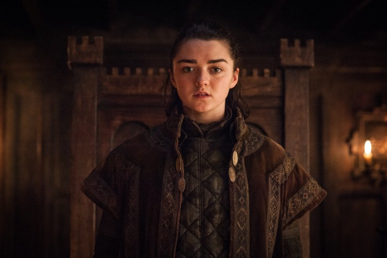 Arya at House Frey