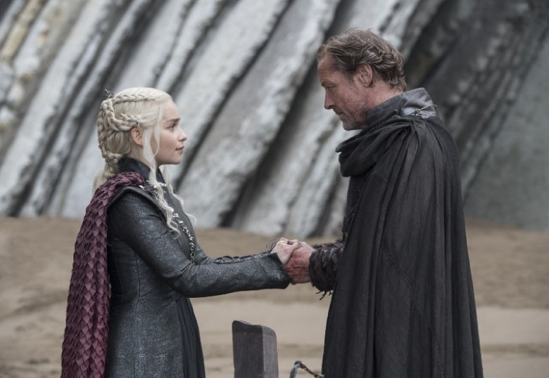 Eastwatch: Daenerys and Jorah