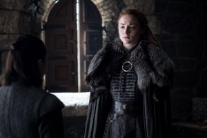 Beyond the Wall - Arya and Sansa Stark