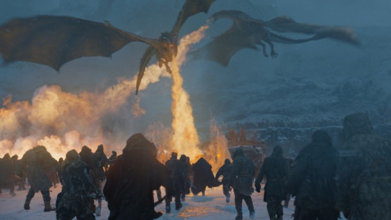 Beyond the Wall - Dragons