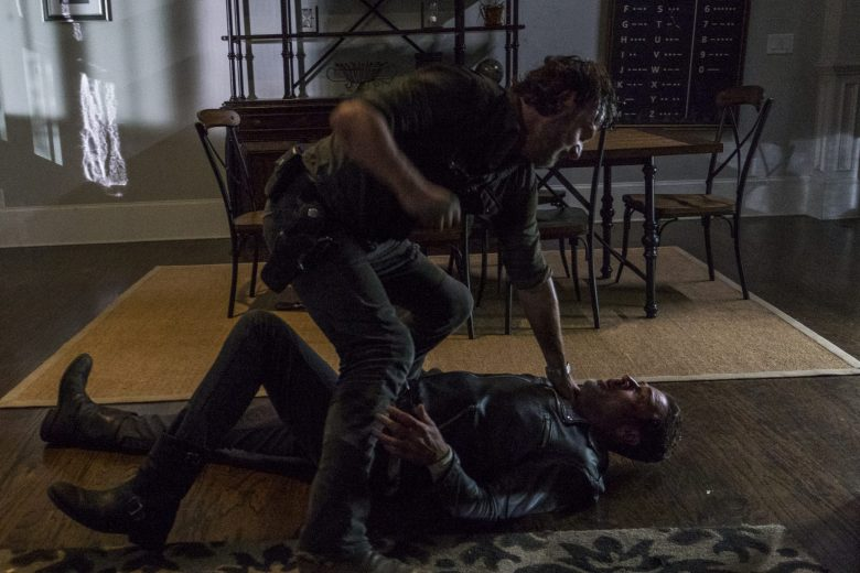 How It's Gotta Be: Rick and Negan fight