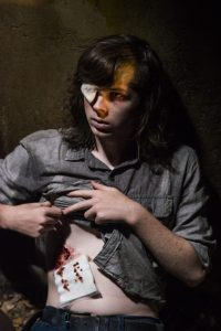 How It's Gotta Be: Carl shows his walker bite