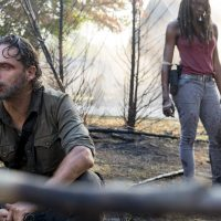 Michonne & Rick in The Lost and The Plunderers