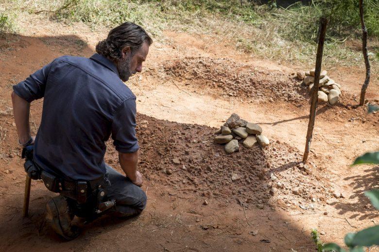 The Key - Rick visits Glen's grave