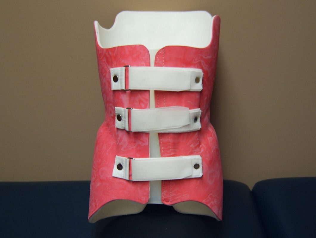 Scoliosis orthosis