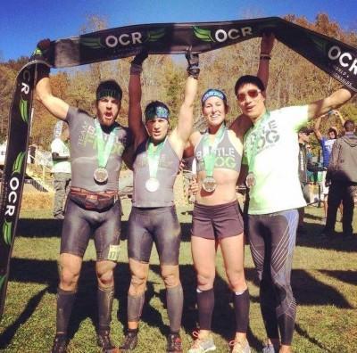 La Team Battlefrog lors des OCR WorldChampionships 2014