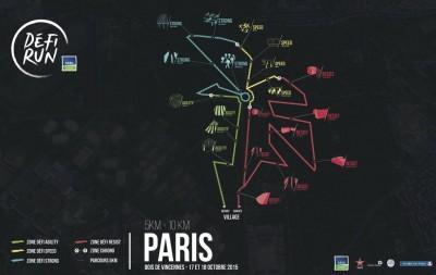 Le parcours de l'étape parisienne.