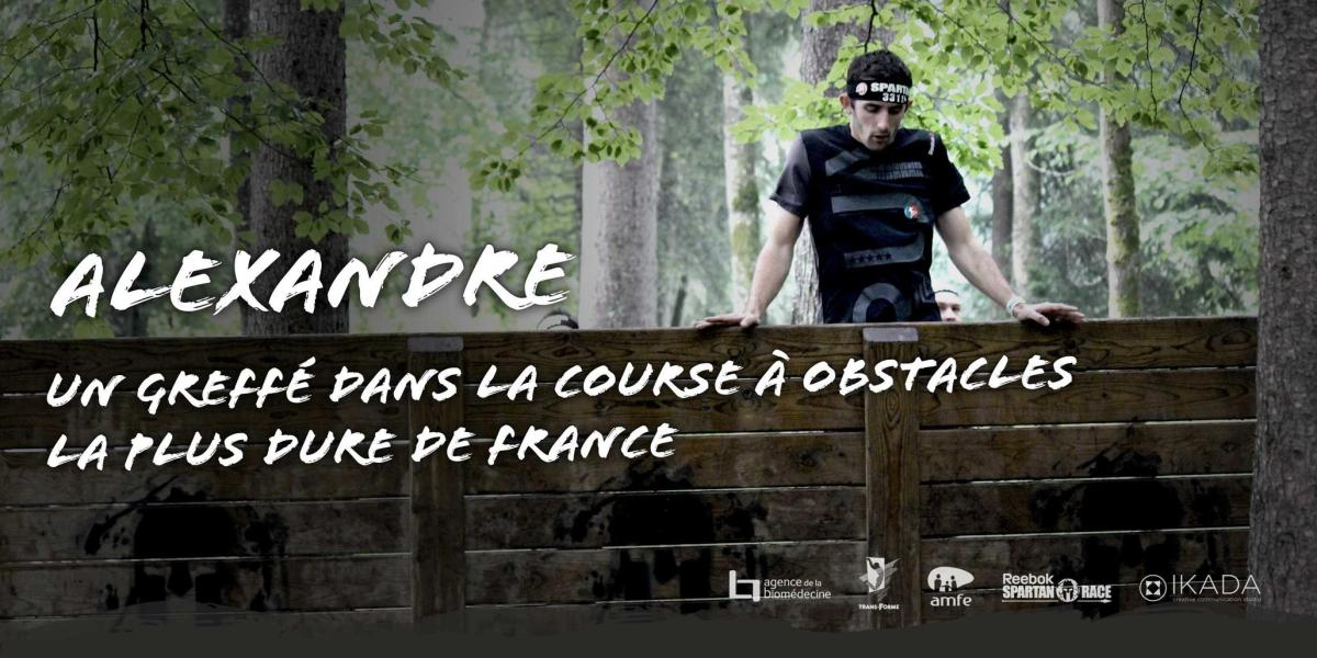 Alexandre, un greffé dans la course à obstacles la plus dure de France