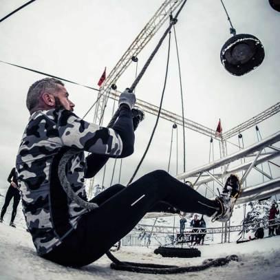 L'Hercules Hoist : Un poids à hisser puis à redescendre à l'aide d'une corde et d'une poulie