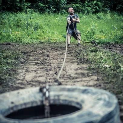 Le tracté : Des épreuves de forces basées sur des pneus agricoles