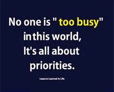 Priorities Quote