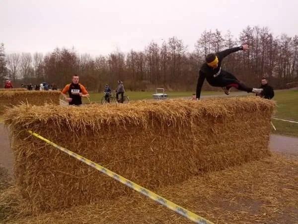 Trainen voor een obstacle run