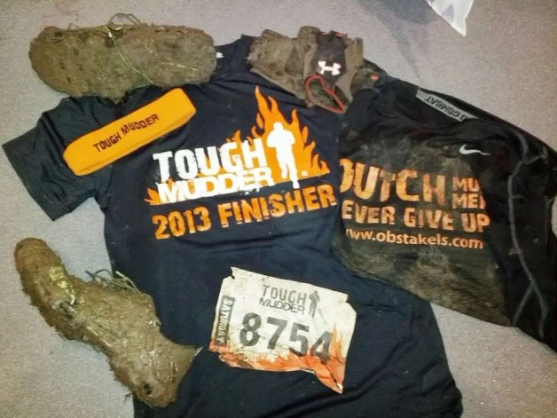Checklist Tough Mudder Dirt - Obstakels.com
