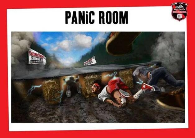 Panic Room Strongmanrun 2013
