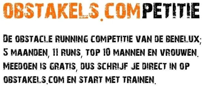 Obstakels.competitie