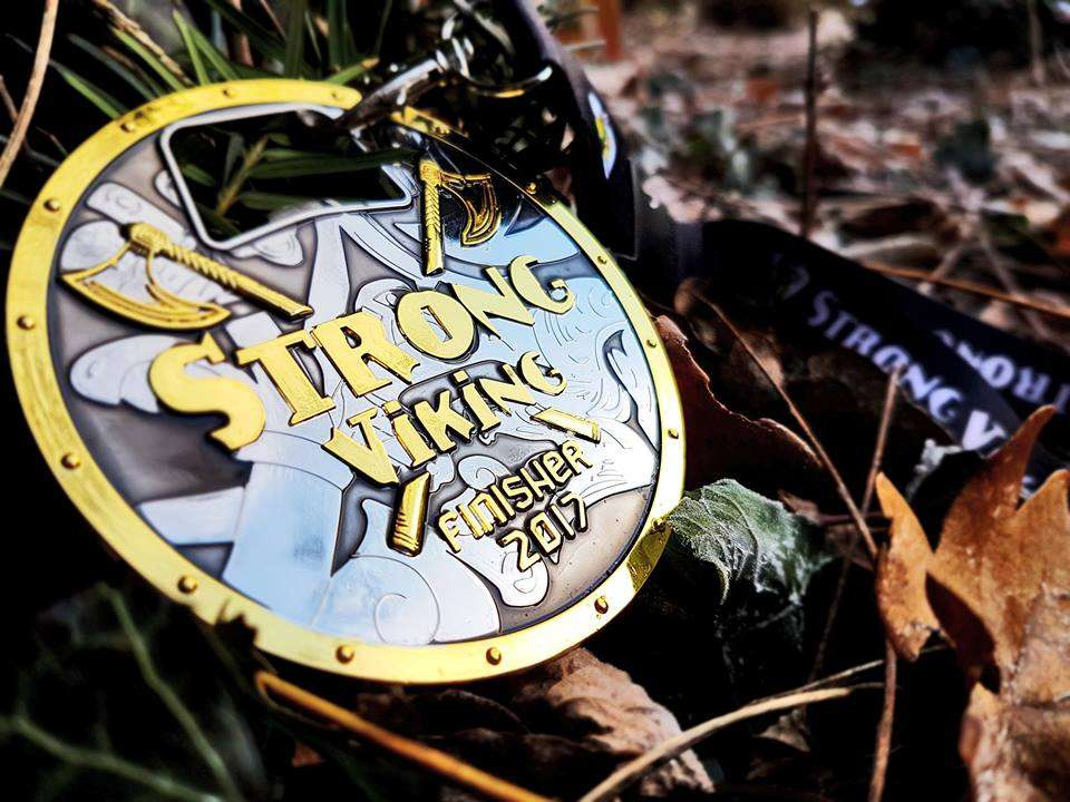 Alle obstakels voor strong viking