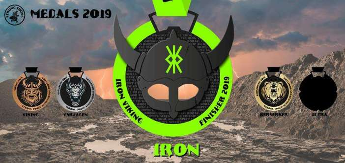 iron viking medaille
