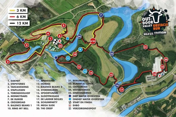 Parcours Outdoor Valley Obstacle Run